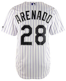 Majestic Men's Nolan Arenado Colorado Rockies Player Replica CB Jersey