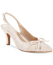 Karen Scott Glenna Slingback Pumps, Created for Macy's