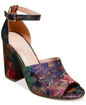 Madden Girl Clara Two-Piece Block-Heel Sandals Women