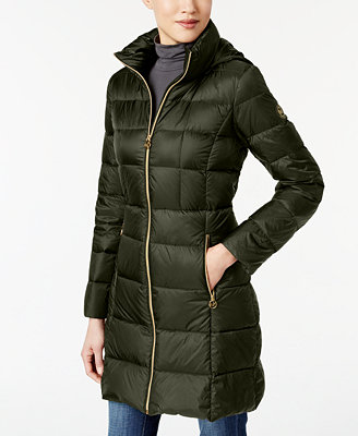 Michael Kors Packable Down Puffer Coat Coats Women