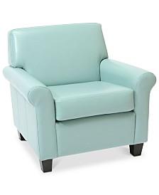 Kalin Club Chair, Quick Ship