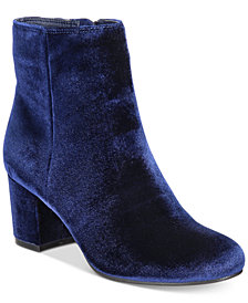 Rebel by Zigi Nanon Block-Heel Booties