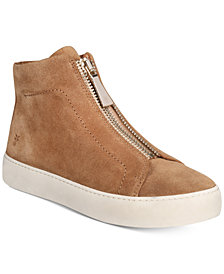 Frye Women's Lena Zip High-Top Sneakers