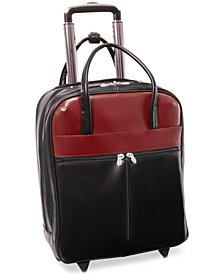 "McKlein Volo 15.6"" Leather Laptop Carry-On"