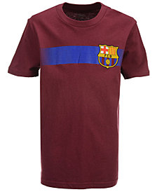 Outerstuff' FC Barcelona Club Team Crest T-Shirt, Big Boys (8-20)