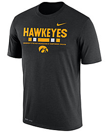 Nike Men's Iowa Hawkeyes Legend Staff Sideline T-Shirt