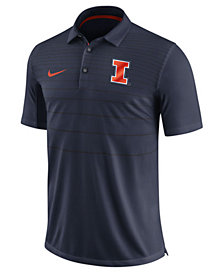 Nike Men's Illinois Fighting Illini Early Season Coach Polo