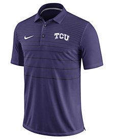 Nike Men's TCU Horned Frogs Early Season Coach Polo