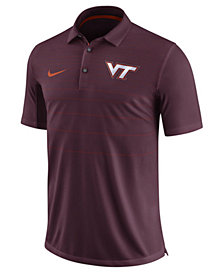 Nike Men's Virginia Tech Hokies Early Season Coach Polo