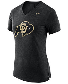 Nike Women's Colorado Buffaloes Fan V Top T-Shirt