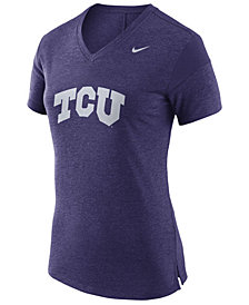 Nike Women's TCU Horned Frogs Fan V Top T-Shirt