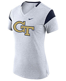 Nike Women's Georgia-Tech Fan V Top T-Shirt