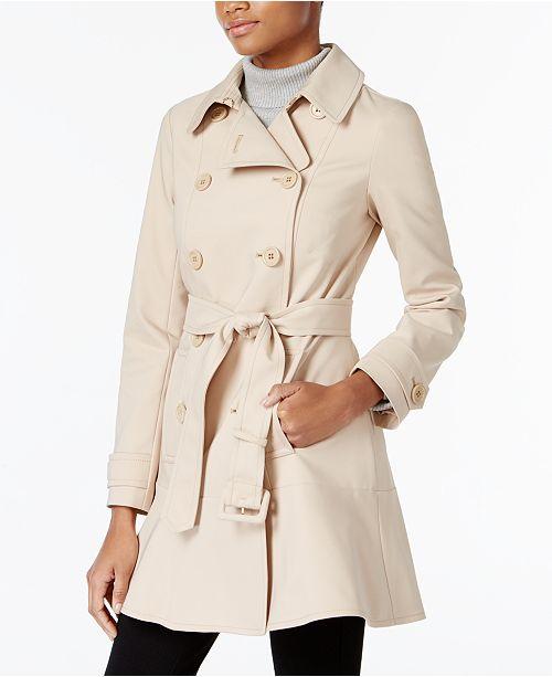 a26b78f50c2b kate spade new york Skirted Trench Coat   Reviews - Coats - Women ...