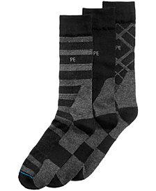 Perry Ellis Men's 3-Pk. Casual Performance Socks