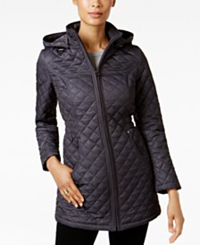 Quilted Womens Coats - Macy's : winter quilted coats - Adamdwight.com