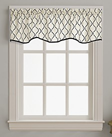 "Morocco 58"" x 14"" Scallop Window Valance"