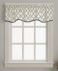 "CHF Morocco 58"" x 14"" Scallop Window Valance"