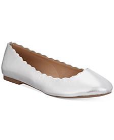 Odette Scalloped Ballet Flats