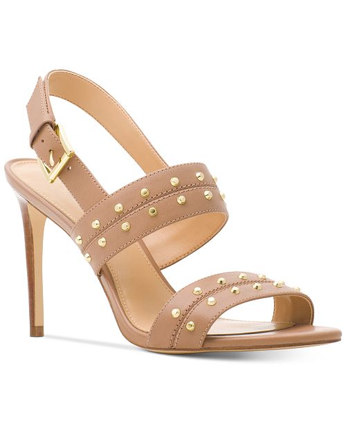 Michael Kors Astor Studded Dress Sandals