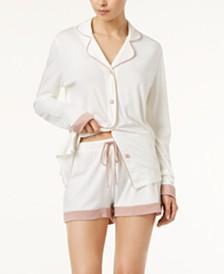 Cosabella Bella Bridal Cotton Contrast-Trim Boxer Set AMOBD9644, Online Only
