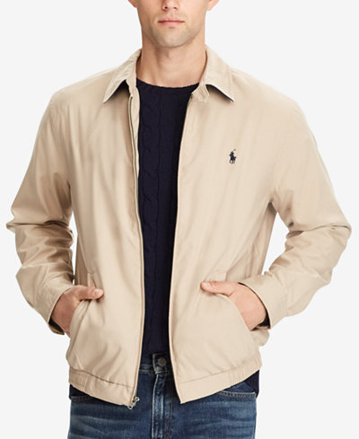 Polo Ralph Lauren Men's Lightweight Windbreaker - Coats & Jackets ...