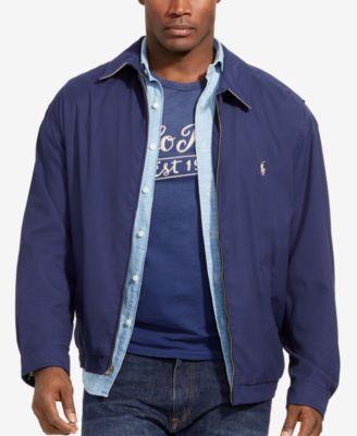 $0 Free Ship Polo by Ralph Lauren Men/'s Full Zip Bi-Swing Windbreaker Jacket