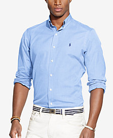 Polo Ralph Lauren Men's Long Sleeve End-on-End Poplin Shirt