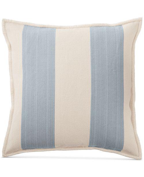 Lauren Ralph Lauren Graydon Ticking Stripe 40 Square Decorative Adorable Pictures Of Decorative Pillows