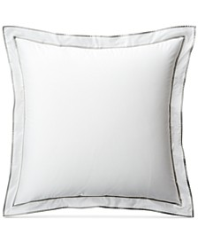 Spencer Cotton Sateen Border European Sham