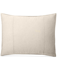 CLOSEOUT! Lauren Ralph Lauren Graydon Cotton Melange King Sham