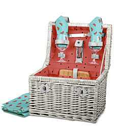 Picnic Time Watermelon Napa Picnic Basket