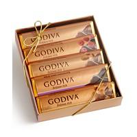 Godiva 5 Bar Chocolate Pack