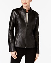 8becece5fdc Jones New York Quilted Leather Jacket