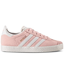 adidas Little Girls' Gazelle Casual Sneakers from Finish Line