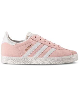 adidas Little Girls\u0027 Gazelle Casual Sneakers from Finish Line