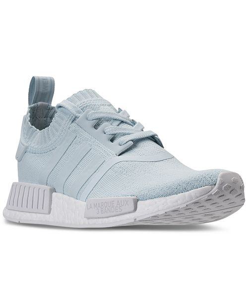 c5722f99b adidas Women s NMD R1 Primeknit Casual Sneakers from Finish Line ...
