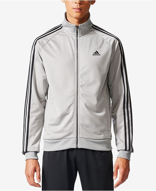 30c6851ff adidas Men's Essential Tricot Track Jacket & Reviews - Coats ...