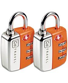 2-Pk. Twin Travel Sentry Locks