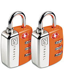 Go Travel 2-Pk. Twin Travel Sentry Locks