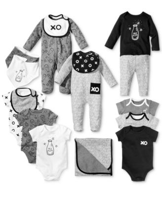 Baby Boys & Girls 3-Pk. XO Bibs, Created for Macy's