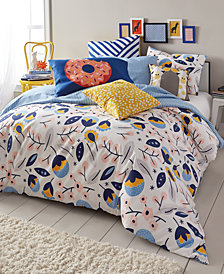 Scribble Reversible 3-Pc. Floral Medley Full/Queen Comforter Mini Set