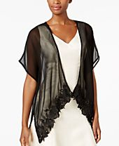 INC International Concepts Scalloped Floral Kimono, Created for Macy's