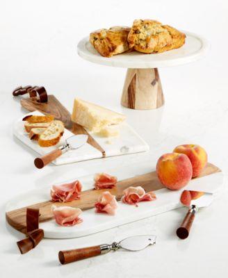 Wood 3 Piece Cheese Set