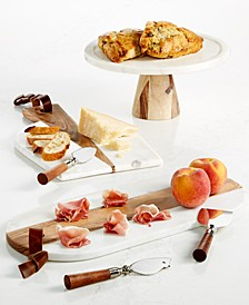 Marble & Wood Serveware Collection