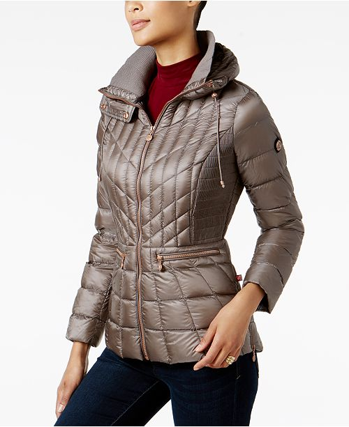 Bernardo Quilted Packable Puffer Coat  Bernardo Quilted Packable Puffer Coat  ... 4472cd303