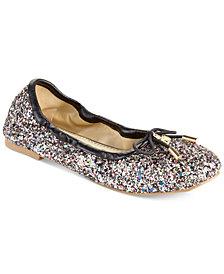 Sam Edelman Felicia Glitter Ballet Flats, Little & Big Girls