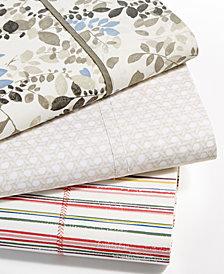 Lauren Ralph Lauren Cotton Percale Printed Sheet Collection