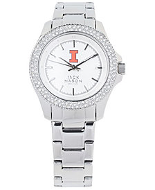 Jack Mason Women's Illinois Fighting Illini Glitz Sport Bracelet Watch
