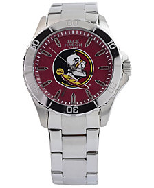 Jack Mason Men's Florida State Seminoles Color Sport Bracelet Watch