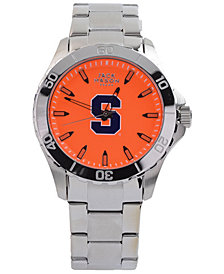 Jack Mason Men's Syracuse Orange Color Sport Bracelet Watch